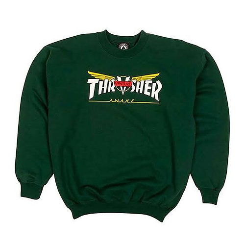 Thrasher x venture / crewneck