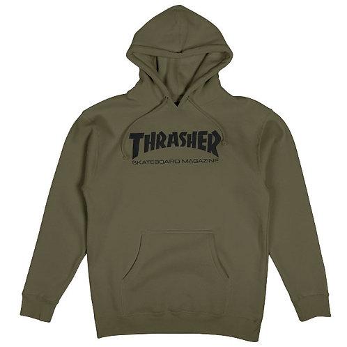 Thrasher / skate mag hood army