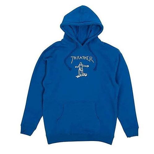 Thrasher / gonz royal blue