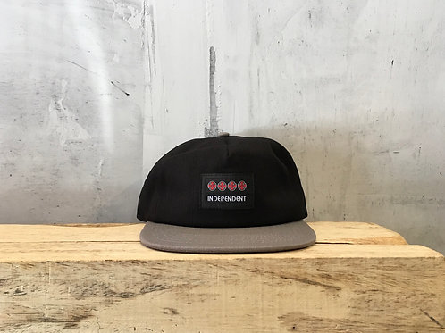 Independent / manner strapback