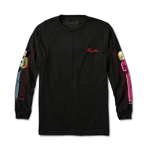 Primitive x dragon ball / androids long sleeve