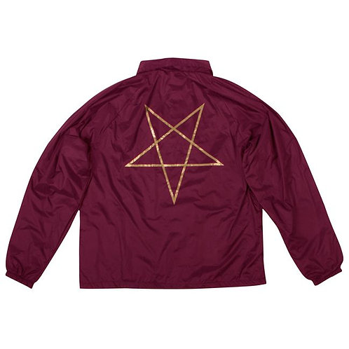 Thrasher / pentagram coach jacket