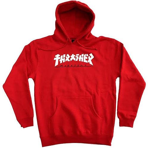 Thrasher / godzilla red