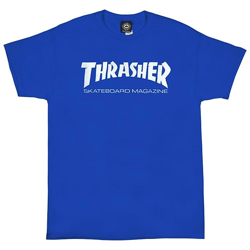 Thrasher / skate mag blue