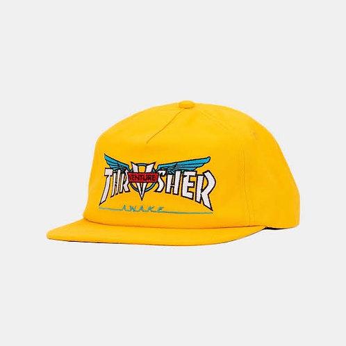 Thrasher x venture / gold hat