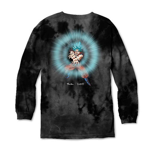 Primitive x dragon ball / long sleeve washed
