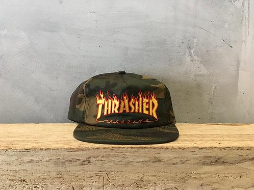 Thrasher / flame logo camo