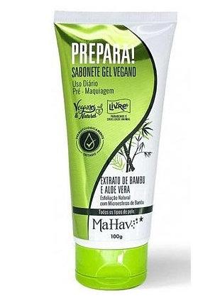 Sabonete Gel Vegano Prepara Pré-Maquiagem Mahav