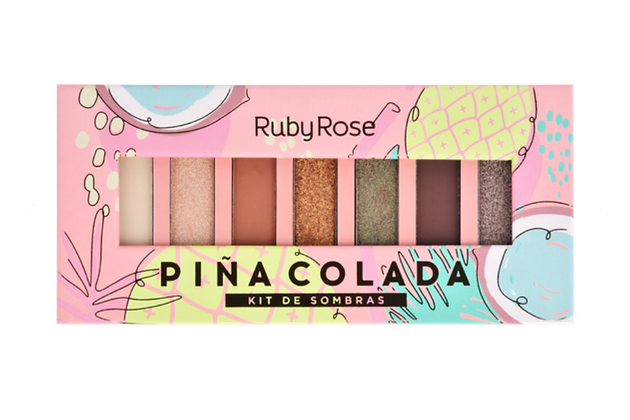 Paleta De Sombras Pinacolada - Ruby Rose