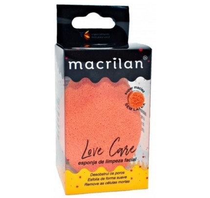 Esponja de Limpeza Facial Love Care - Macrilan