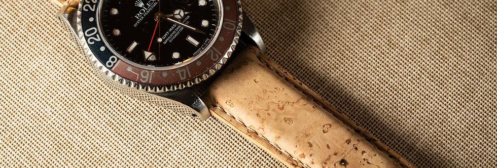 Bracelet de montre en liège