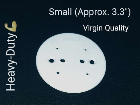 """Round Plate (Small) 3.3"""""""