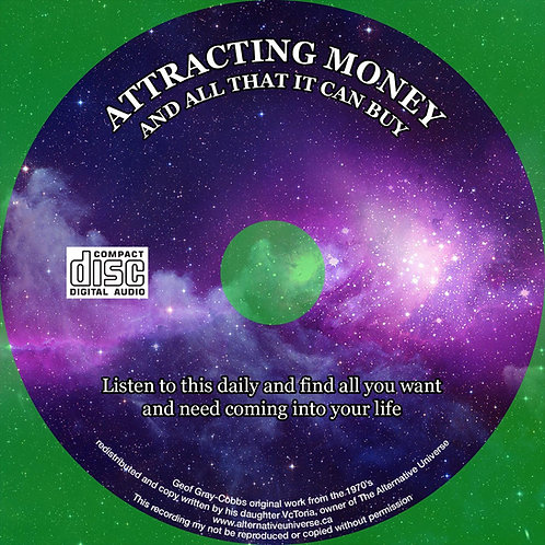 Geof Gray-Cobb Attracting Money and All it Can Buy ONLY AVAILABLE in MP3
