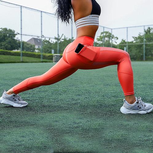 Sexy Workout Leggings With Pockets Women Leggins Plus Size Anti Cellulite