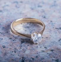 Toi et Moi diamond ring