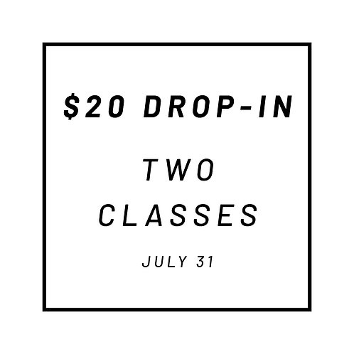 Two Drop-In Classes