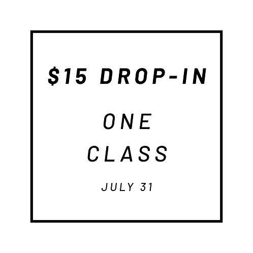 One Drop-In Class