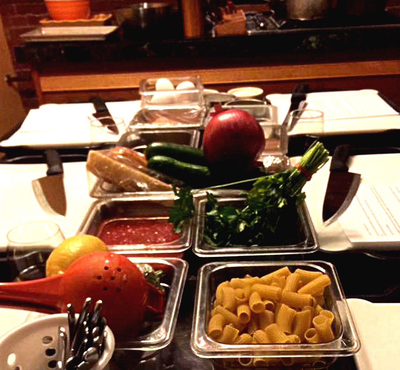 Five Course Cooking Class