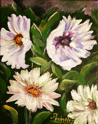white flowers(Sold)