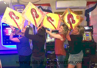 painting class & wine canvas, wine and painting party,Event Wausau WI