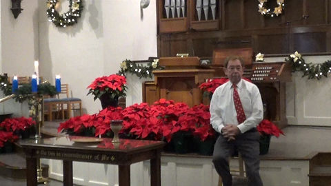 Rev. Dr. Don Ewing leads in Prayer