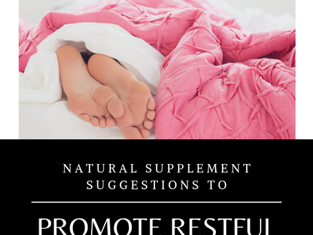 When Sleep Doesn't go as Planned | Supplements for Sleep