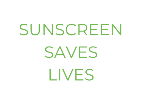 Sunscreen Saves Lives