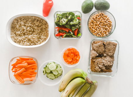Ingredient Prepping for an Easy Week of Healthy Meals