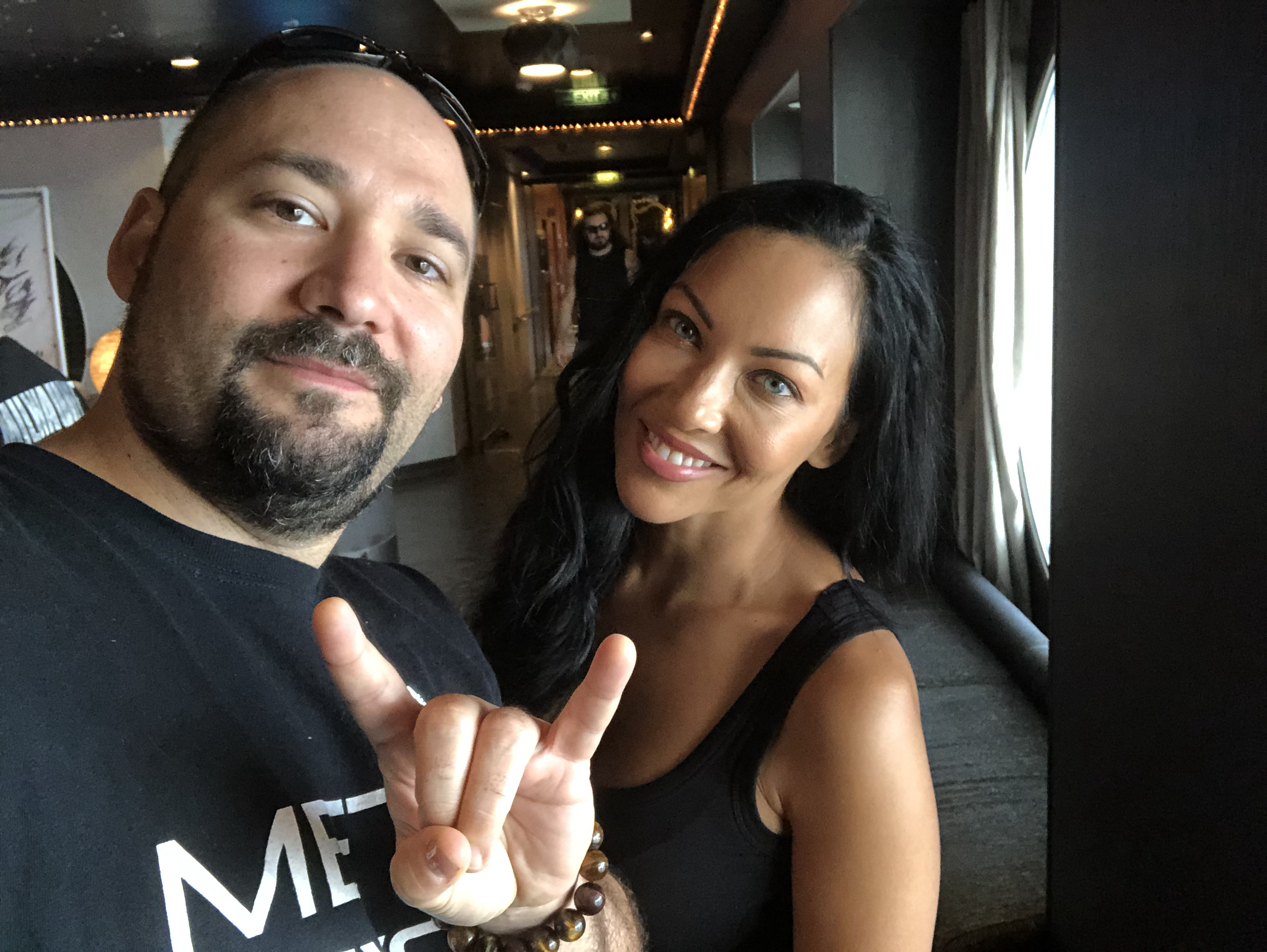 Did I mention the Lovely Carla Harvey?