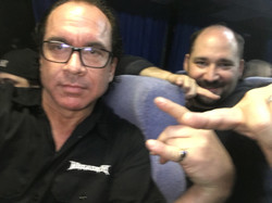 McRobb and Goolz on the Bus