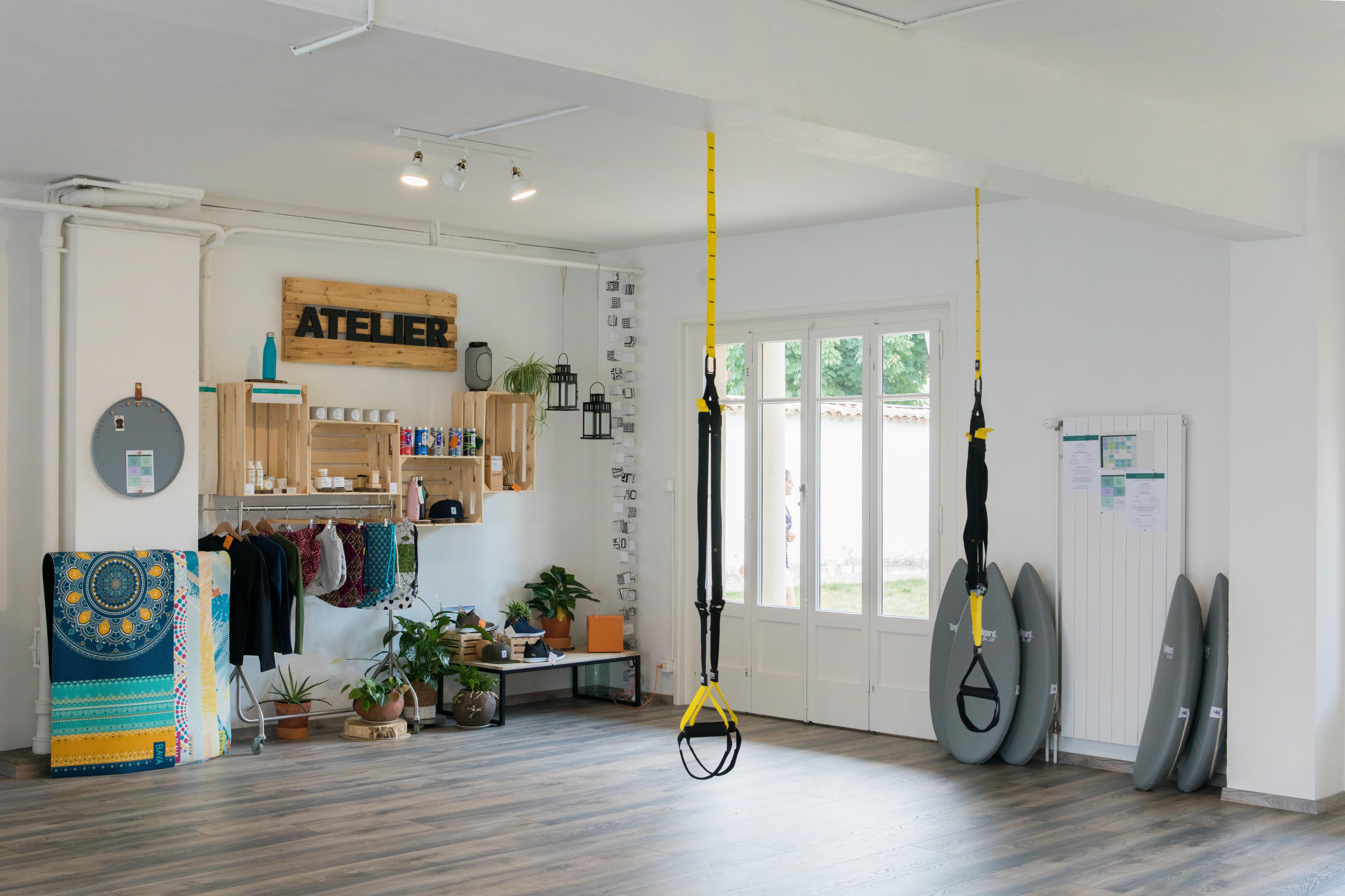 Ômm, l'Atelier _ Salle de sport _ Plan-l