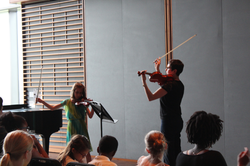 Performing with a Student