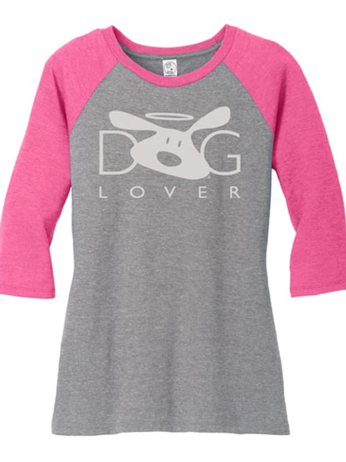 Dog Lover Raglan Tee