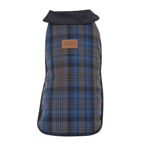 Crescent Lake Plaid Coat