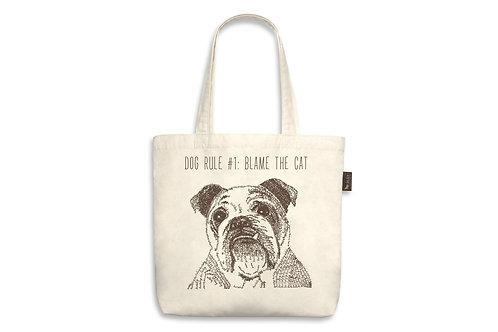 #1 Dog Rule Tote