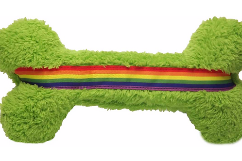 Duraplush Rainbow Pride Bone