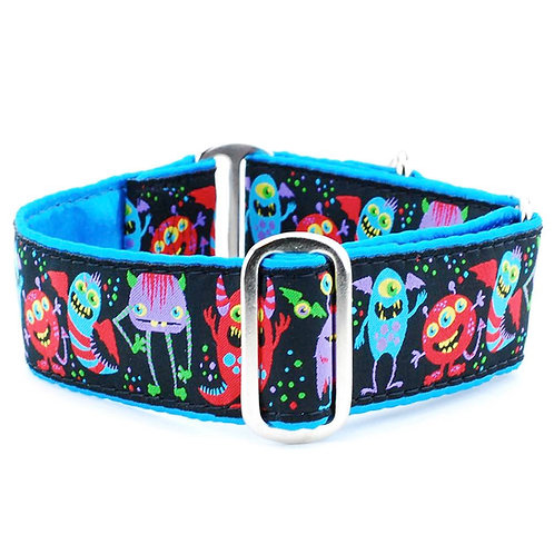Monstro-City Martingale Dog Collar