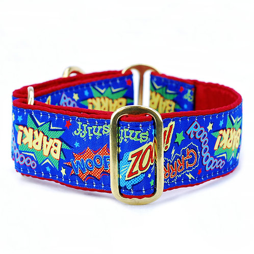 Super Dog Martingale Dog Collar
