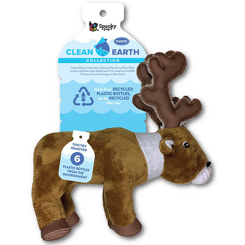 Plush Caribou Squeak Toy