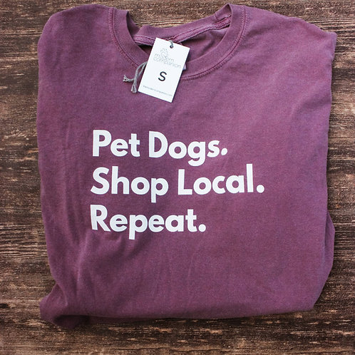 Pet Dogs, Shop Local Tee
