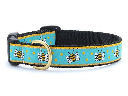 Bees Dog Collar