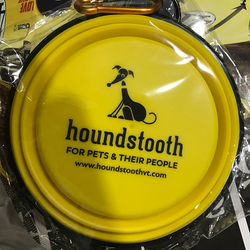 Houndstooth Travel Bowl