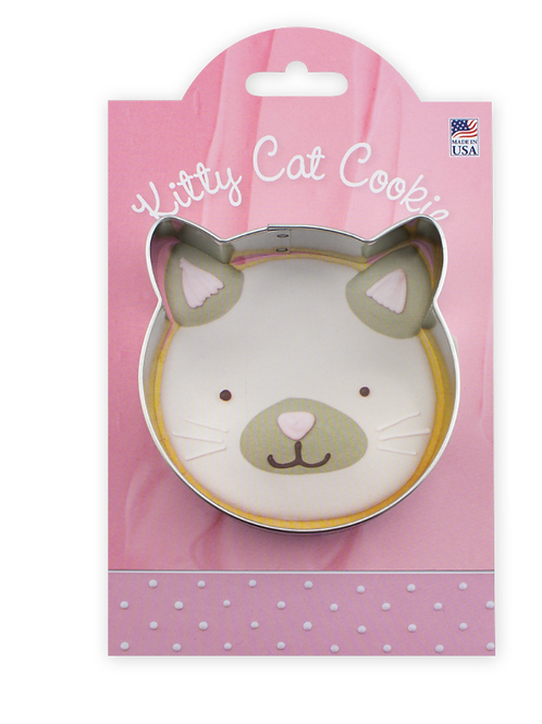 Kitty Cat Cookie Cutter and Recipe