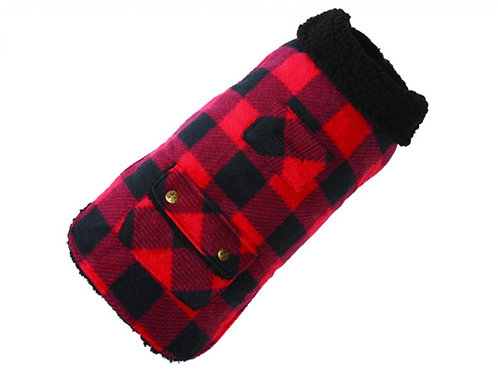 Buffalo Check Fleece Coat