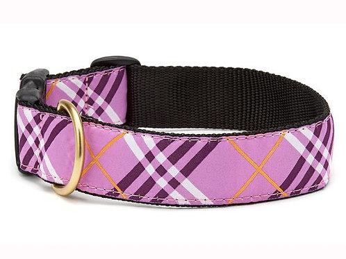 Lavender Lattice Dog Collar