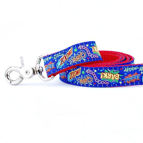 Super Dog 6' Velvet Lined Leash