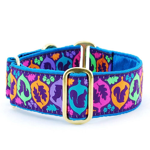 Squirrel Martingale Dog Collar