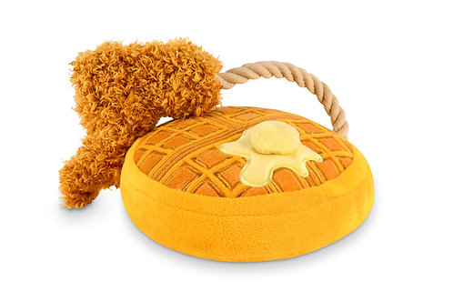 Chicken & Woofles Squeaky Toy