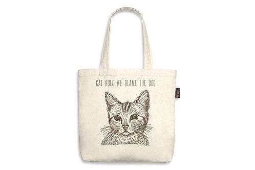 Cat Rule#1 Tote