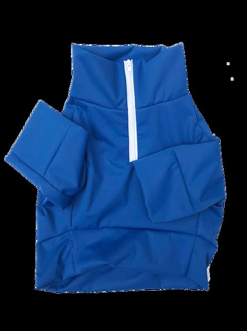 Doggie Fit Half-Zip Jacket (Blue)